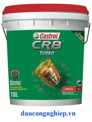 Dầu động cơ Castrol CRB Turbo+ 20W-50 CH-4