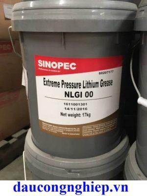 Mỡ bôi trơn Sinopec Crystal Grease NLGI 0, 1, 2, 3