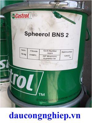 Mỡ chịu nhiệt độ cao Castrol Spheerol BNS 2