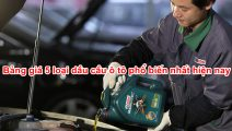 Bảng giá 5 loại dầu cầu ô tô phổ biến nhất hiện nay