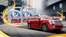 Các dòng sản phẩm dầu Total dành cho động cơ xe ô tô