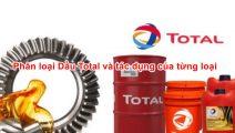 Phân loại dầu Total và tác dụng của từng loại